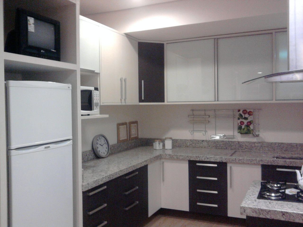 Cozinha Planejada Em Preto E Branco De Heloisa Leal 42728 No Viva