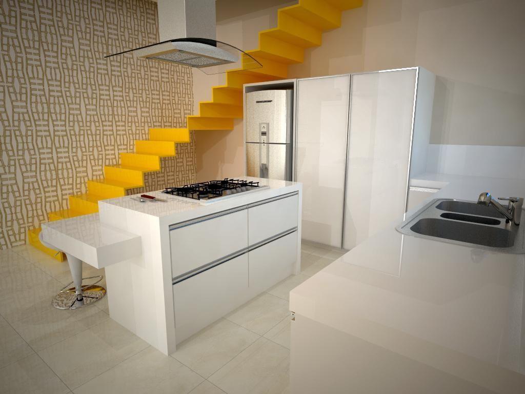 Cozinha Americana Amarela Free Casa Amarela Arnoldo Magalhes U