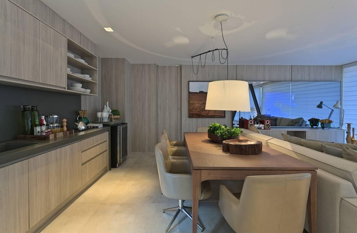 Cozinha Planejada Integrada Com A Sala De Renata Basques 88619 No