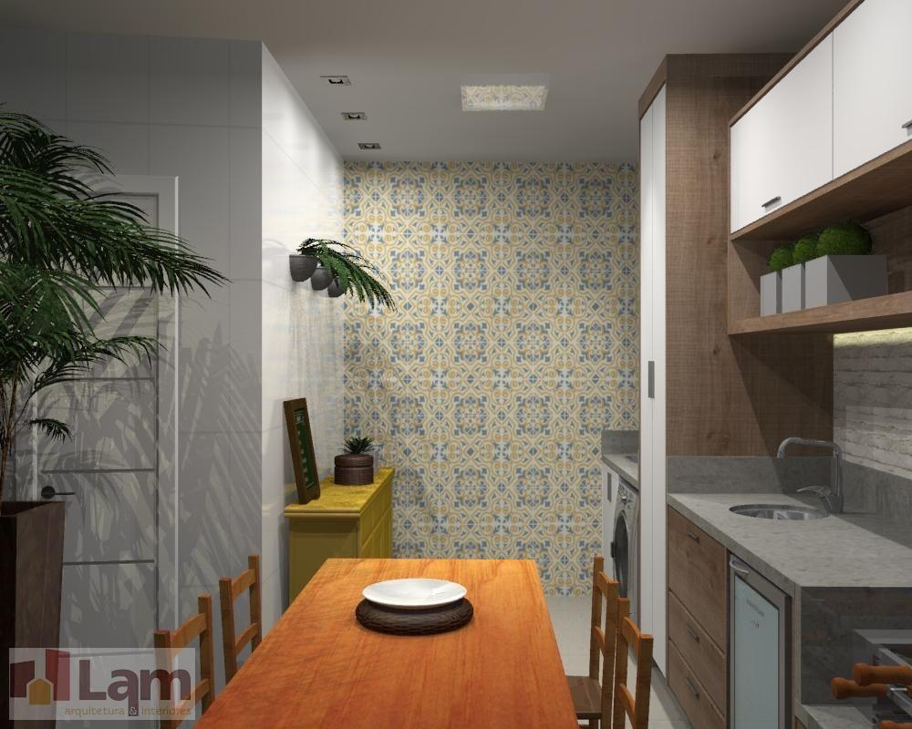 Mesa Quadrada Em Madeira De Lam Arquitetura Interiores 91560 No  -> Sala Quadrada Planejada
