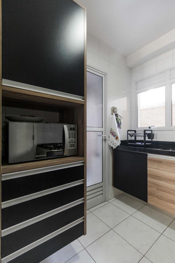 decoração cozinha preto - cores de tintas