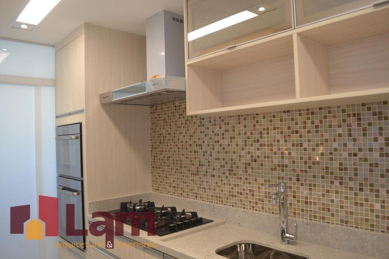 Pastilhas Em Tom De Marrom De Lam Arquitetura Interiores 92373  ~ Pastilha Cozinha Americana
