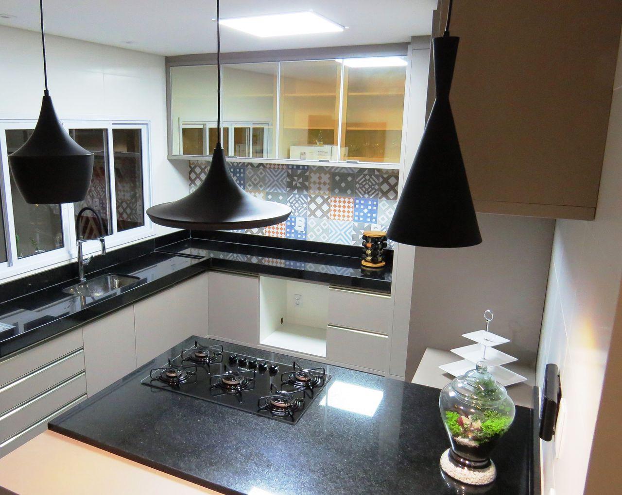 Cozinha Gourmet Projeto Apartamento Vila Nova Projeto Claudia