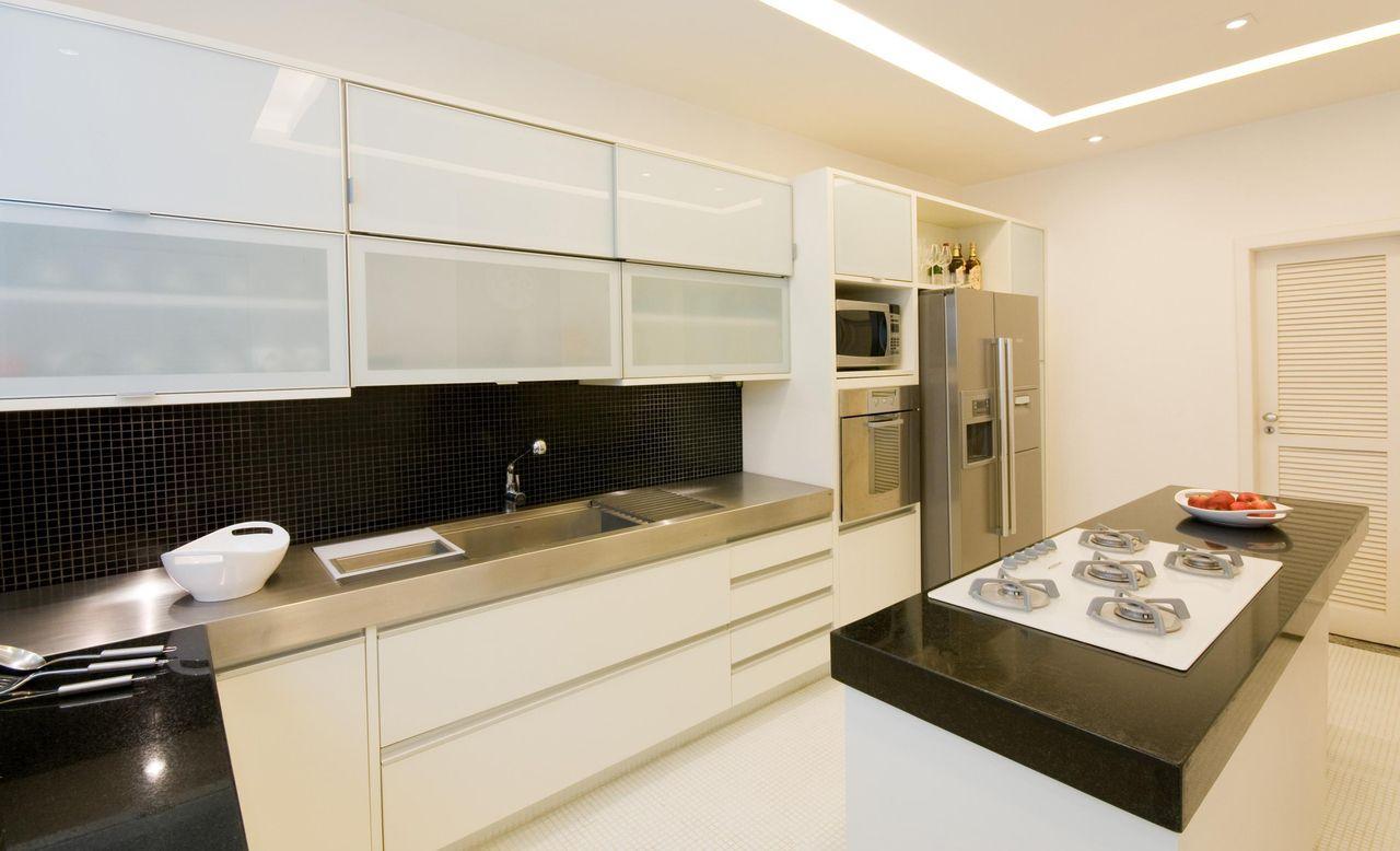 Cozinha Planejada Preta E Branca De Leticia Araujo 47484 No Viva