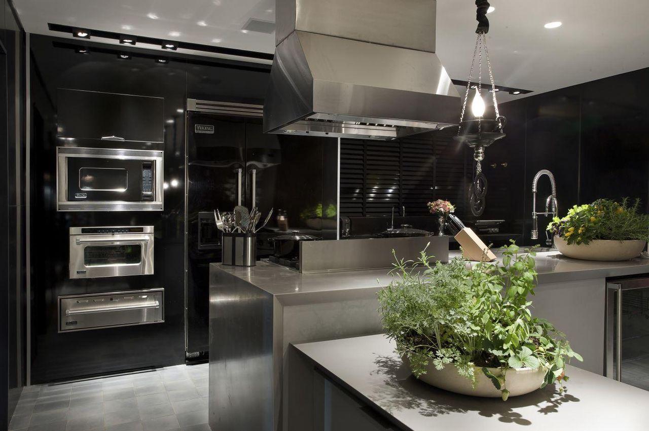 Cozinha Planejada Cor Preta Resimden Com