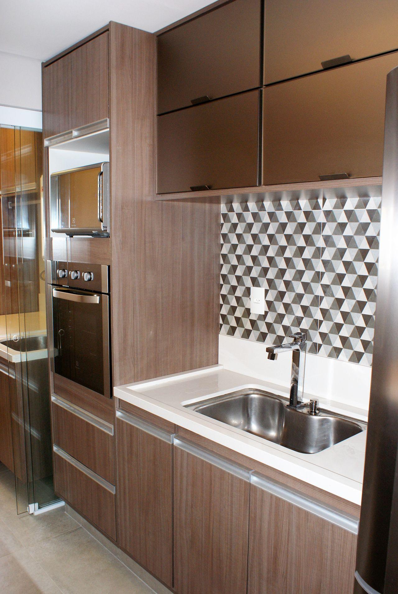 Torre Quente Com Forno Embutido Na Cozinha De Scopo Design Moveis