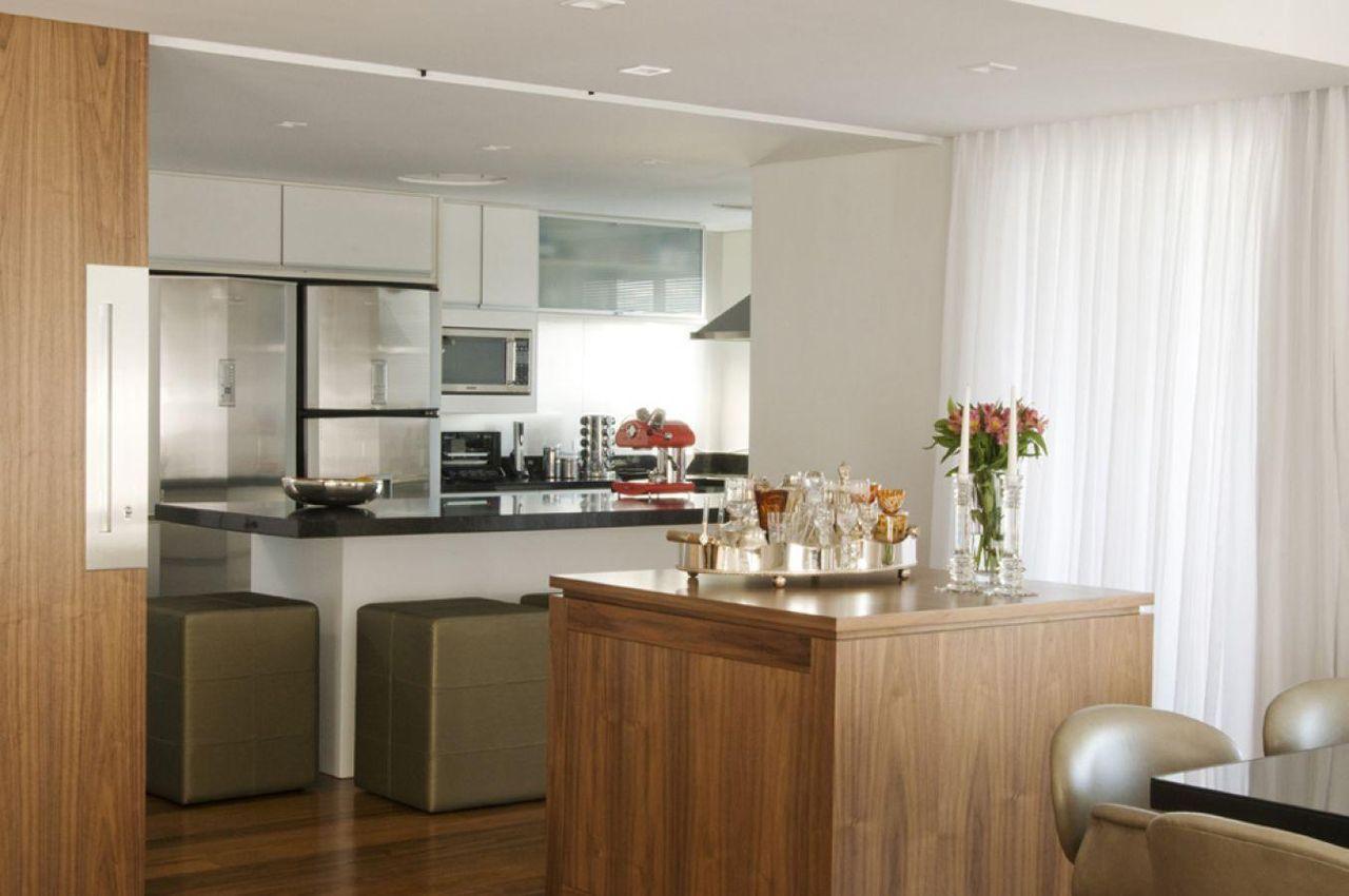 Cozinha Americana Com Arm Rio Branco De A1 Arquitetura 76688 No