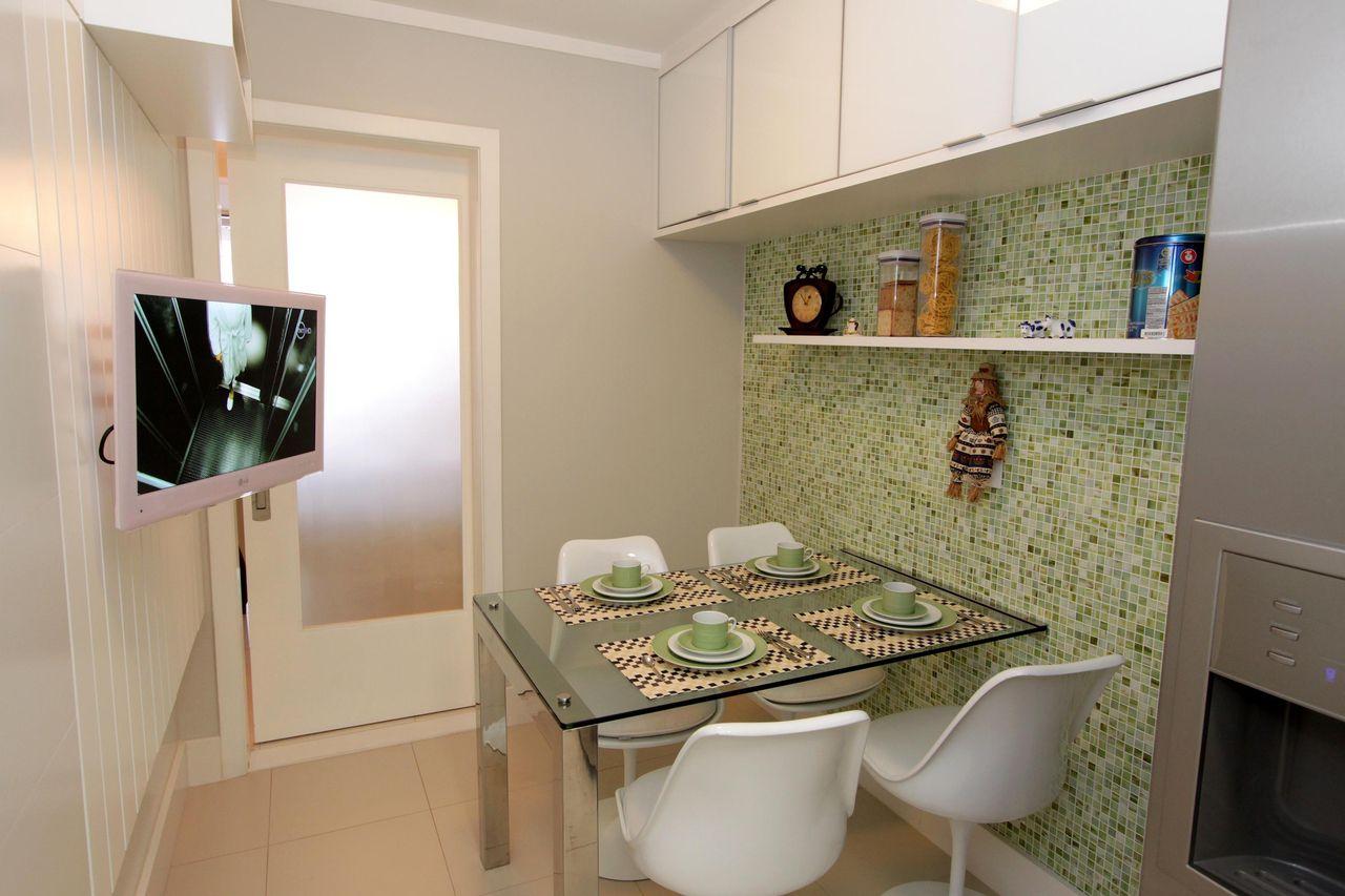 Cozinha Planejada Com Mesa De Vidro Top Esses Dois Modelos De