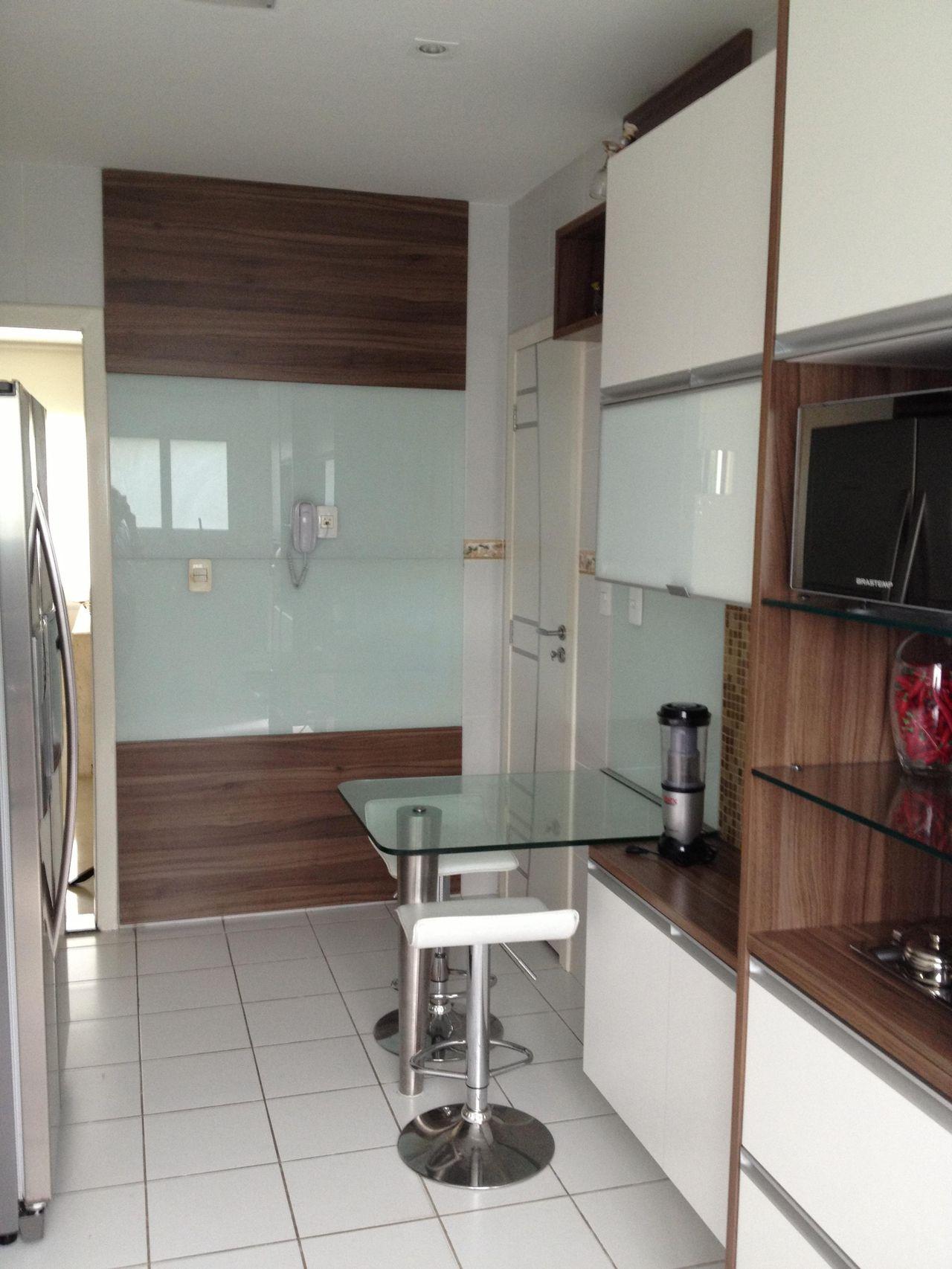 Cozinha Com Piso Branco De Amaury Junior 17381 No Viva Decora