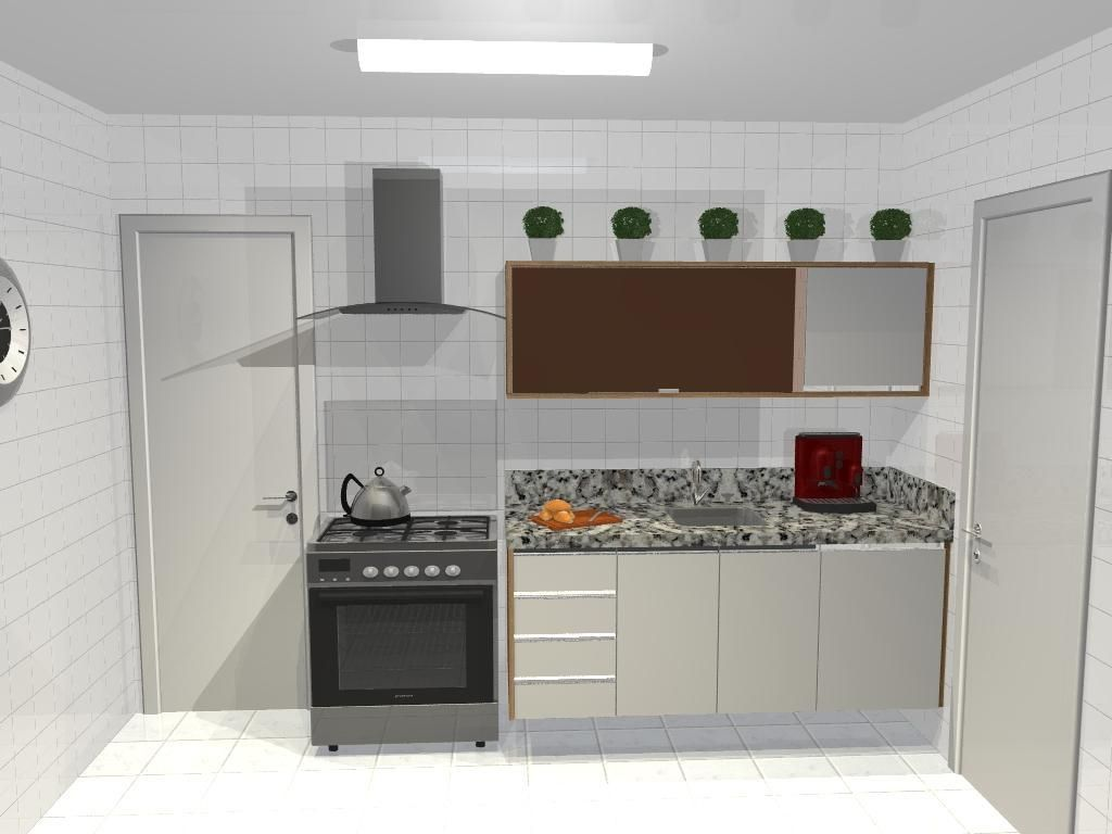 Cozinha Pequena Com Escada Cozinha Americana Pequena Com Sala De