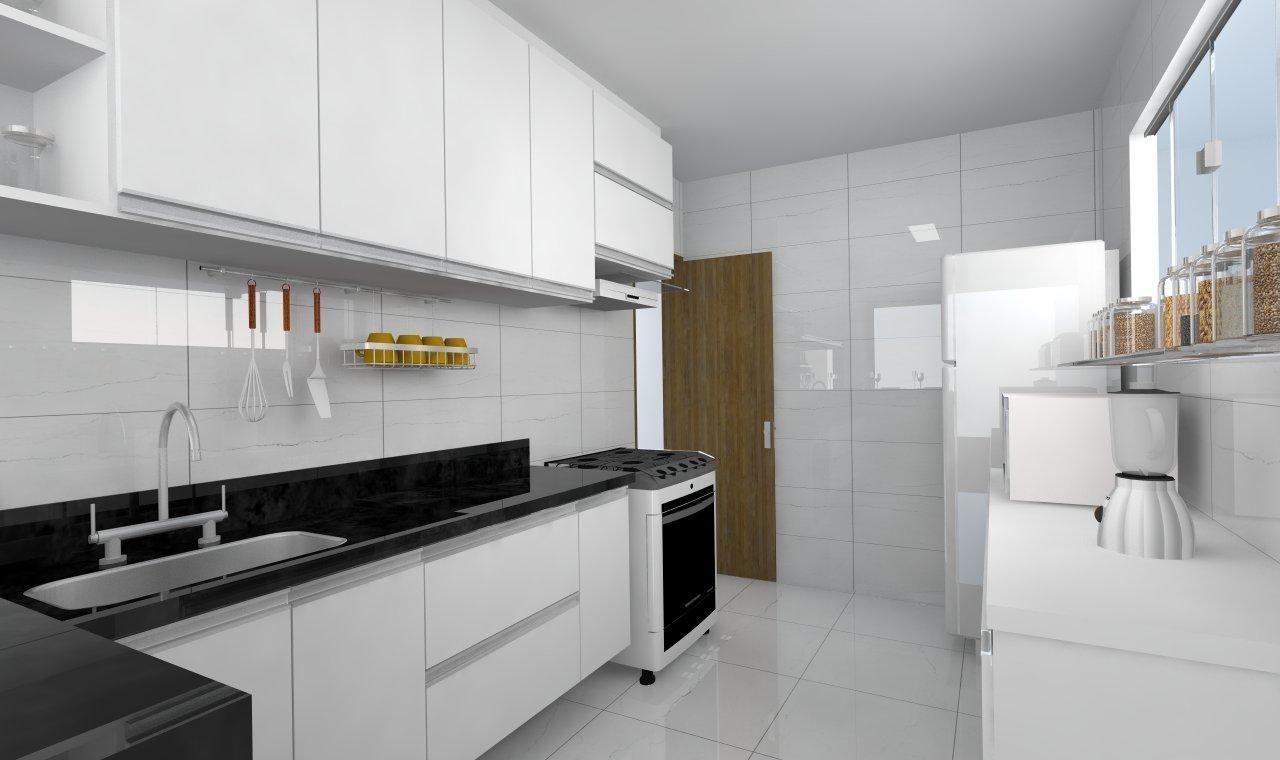 Cozinha Planejada Branca De Elo Arquitetura E Interiores 42794 No