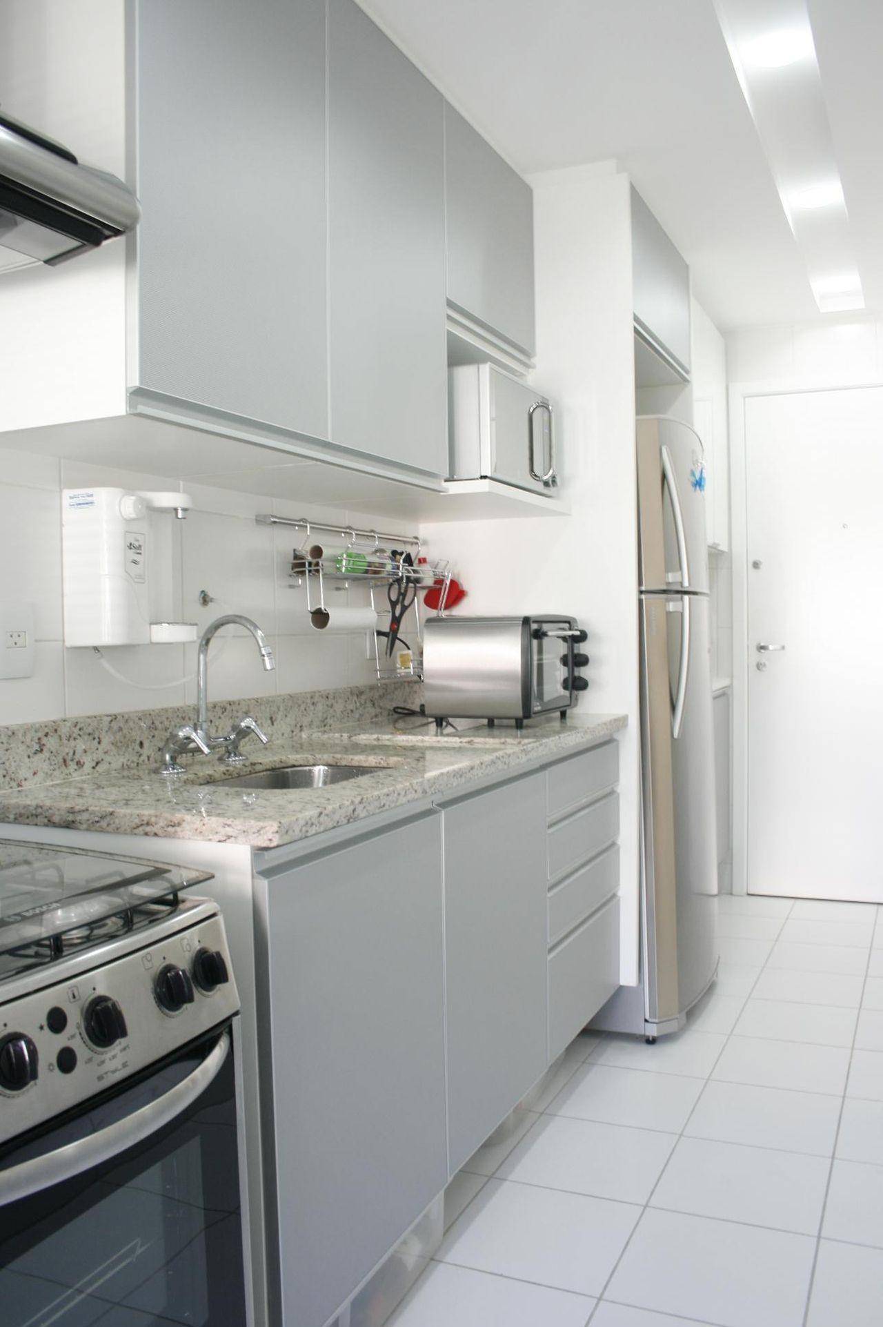 Cozinha Planejada Branca De Eunice Oliveira 40526 No Viva Decora