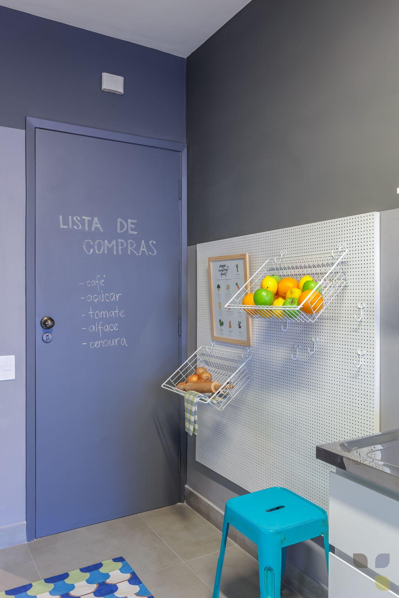 Cozinha Pr Tica E Colorida Com Fruteira De Carol Tasiro 137803 No