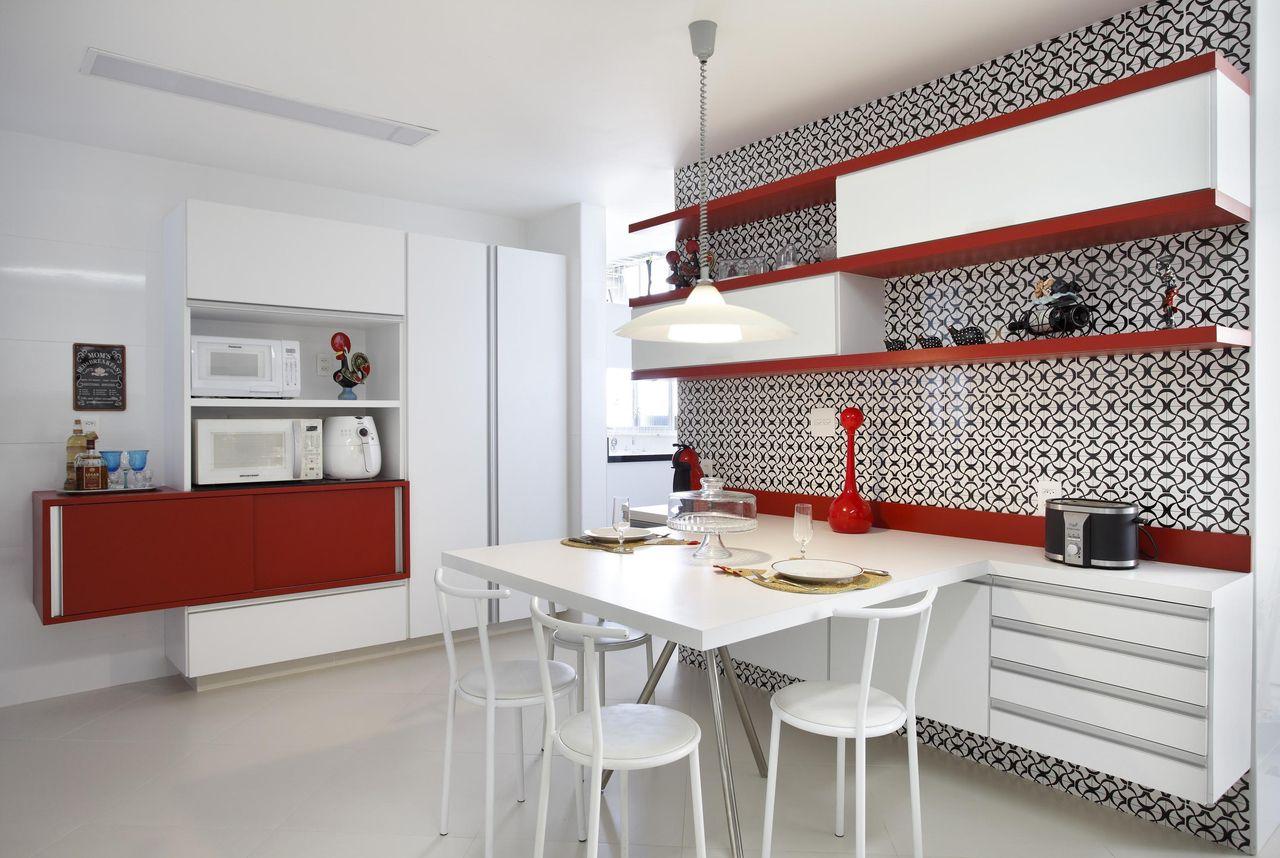 Muito Cozinha Vermelha de Elaine Fonseca - 106287 no Viva Decora SE69
