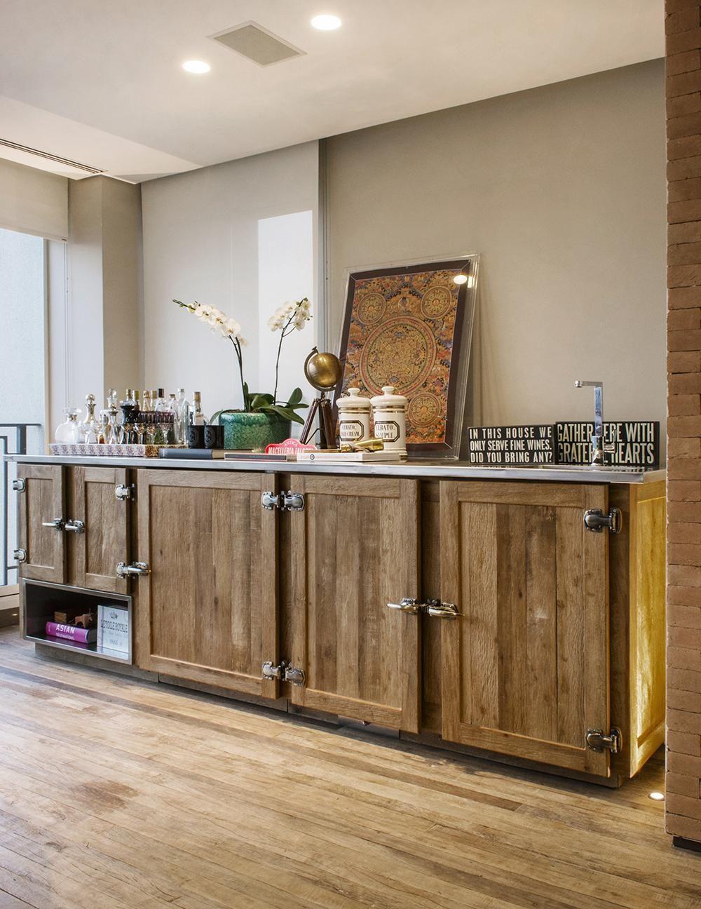 Varanda Gourmet Com Balc O De Madeira R Stica De Triplex Arquitetura