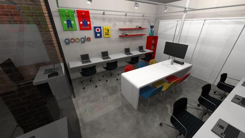 decorao escritrio estilo industrial com decorao geek