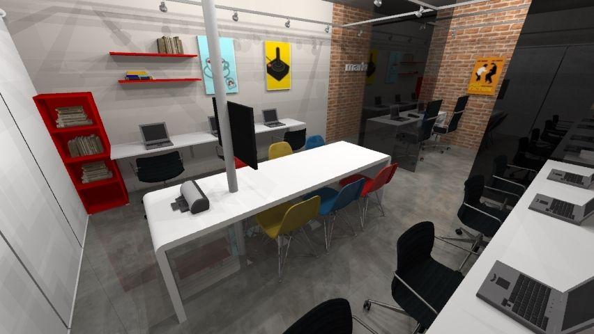 decorao escritrio agencia marketing digital estilo