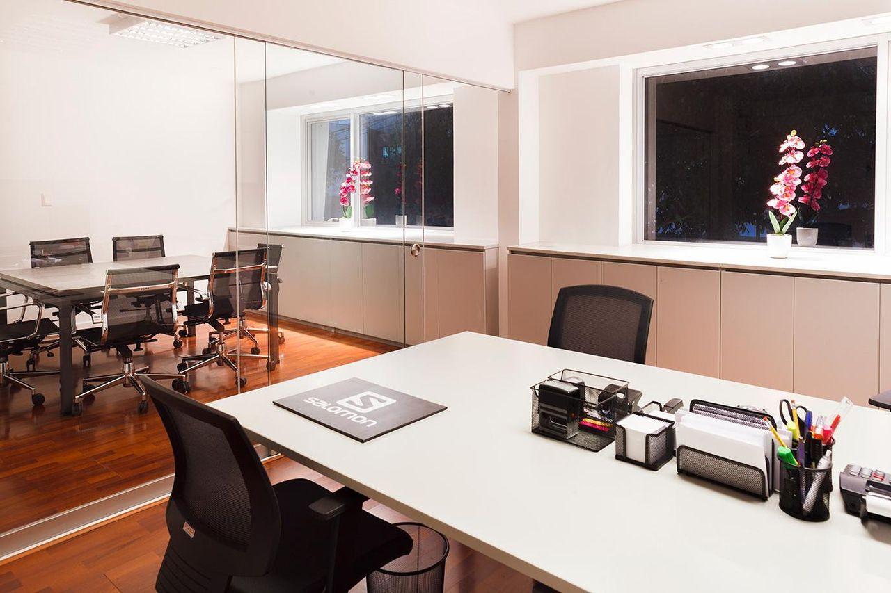 Ambientes Porta de Vidro escritório