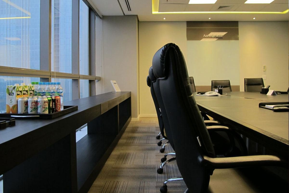 Sala De Reuni O Com Aparador De Artiun Arquitetura 69203 No Viva  -> Imagens De Aparador Para Sala