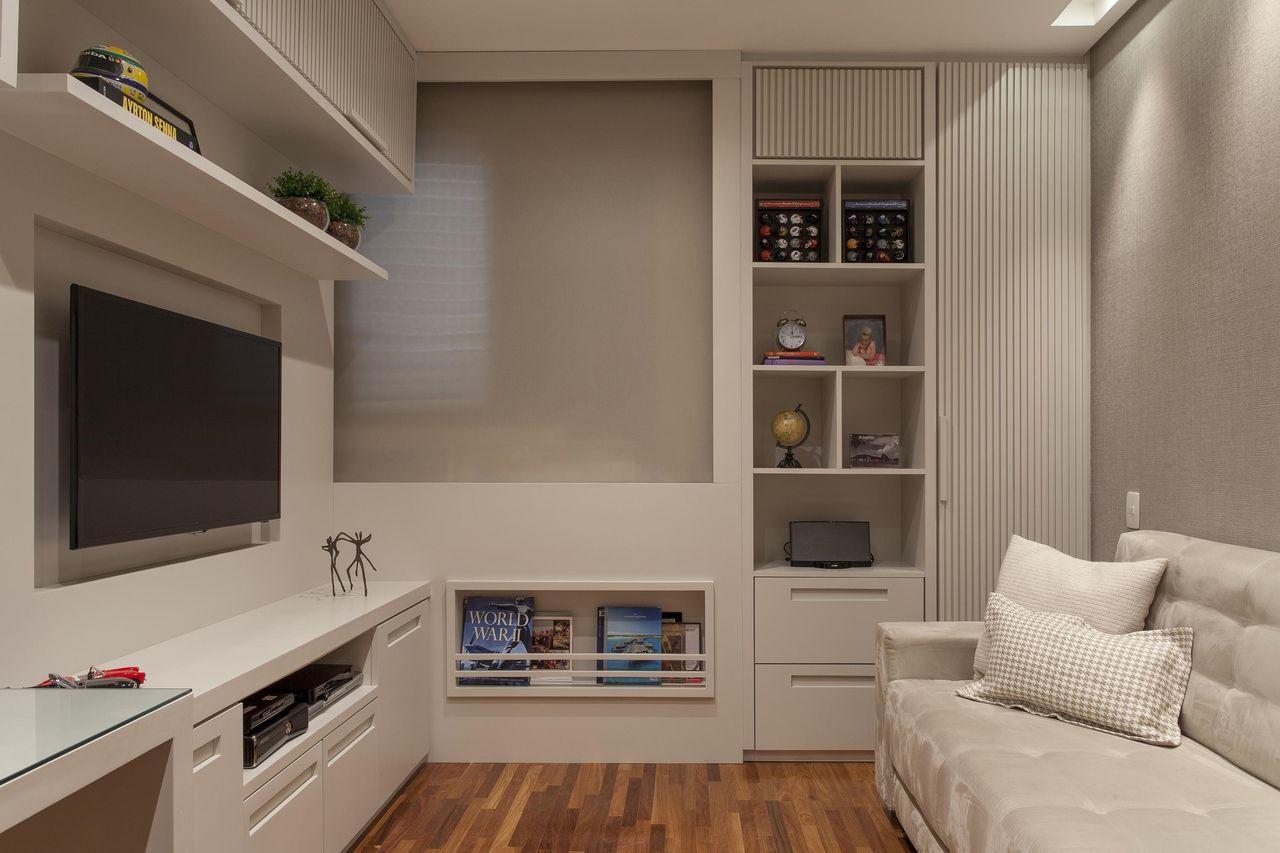 Home Office Com Arm Rios Planejado De Ark2 Arquitetura 78180 No  ~ Home Office Planejado Quarto E Quadro De Quarto De Bebe