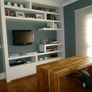 Groovy Home Office Decoracao 2 000 Fotos Dicas E Ideias Viva Decora Largest Home Design Picture Inspirations Pitcheantrous