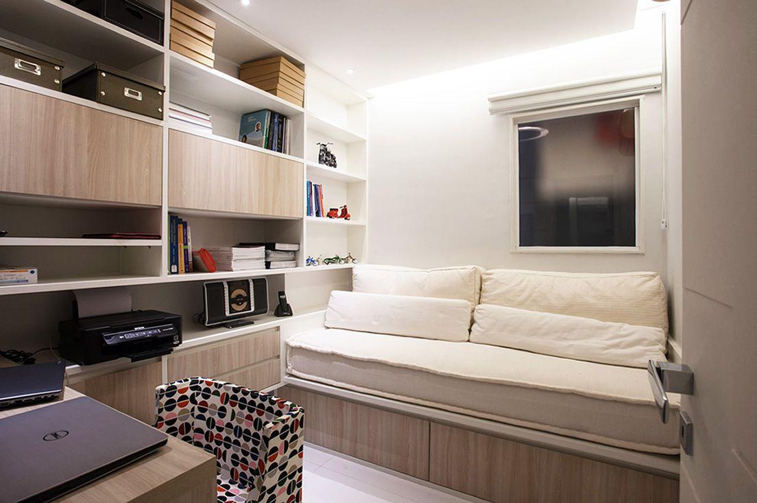 Quarto Solteiro Com Home Office De Favorita Movdecor Favorita  ~ Home Office No Quarto De Solteiro