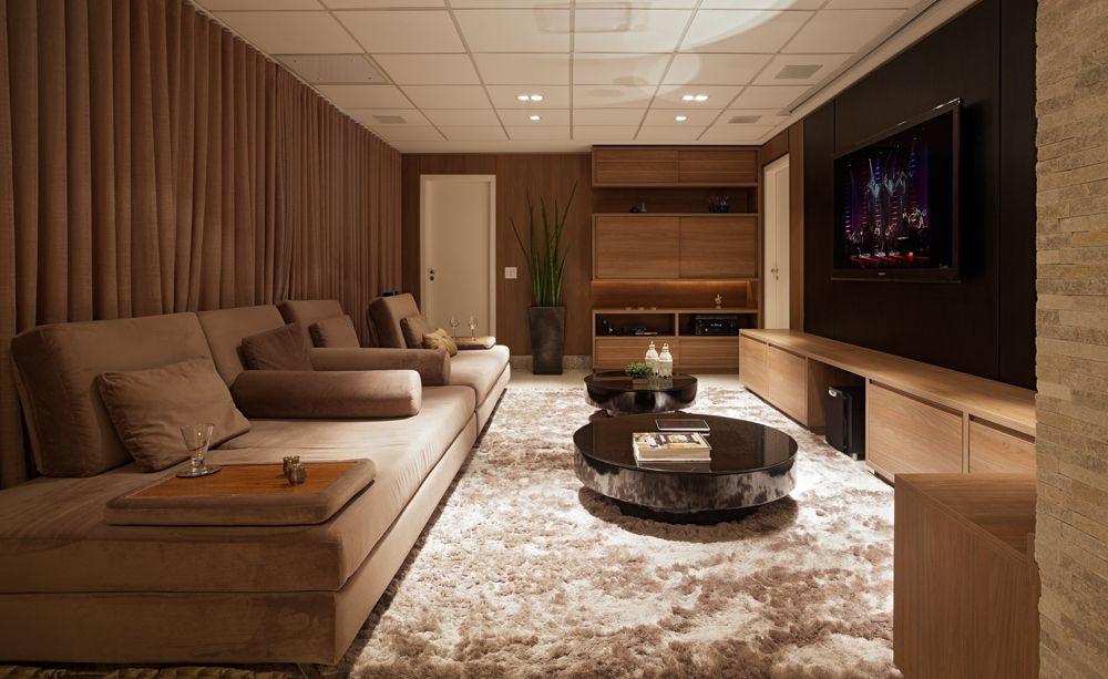 Image result for decoração com tapete felpudo sala de tv