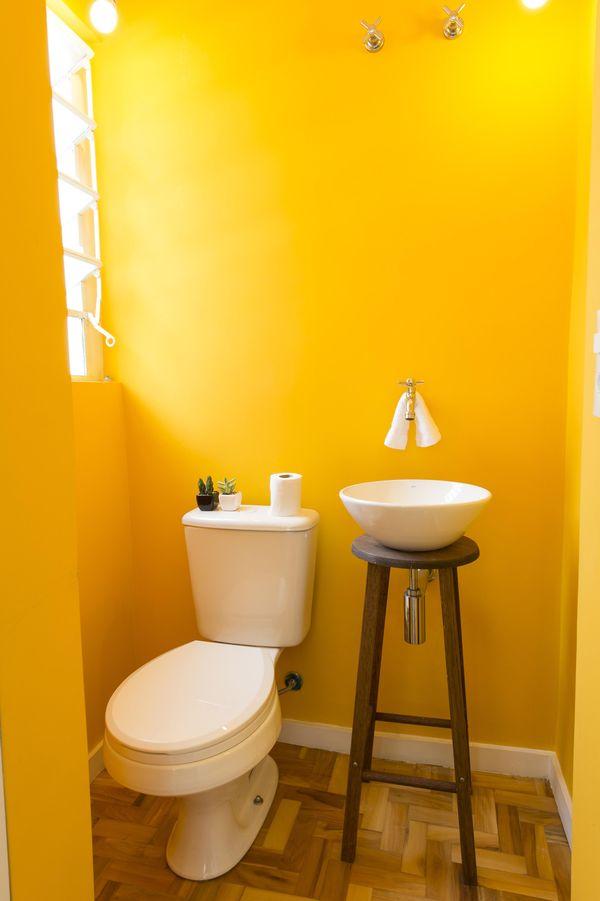 como decorar um banheiro - banco