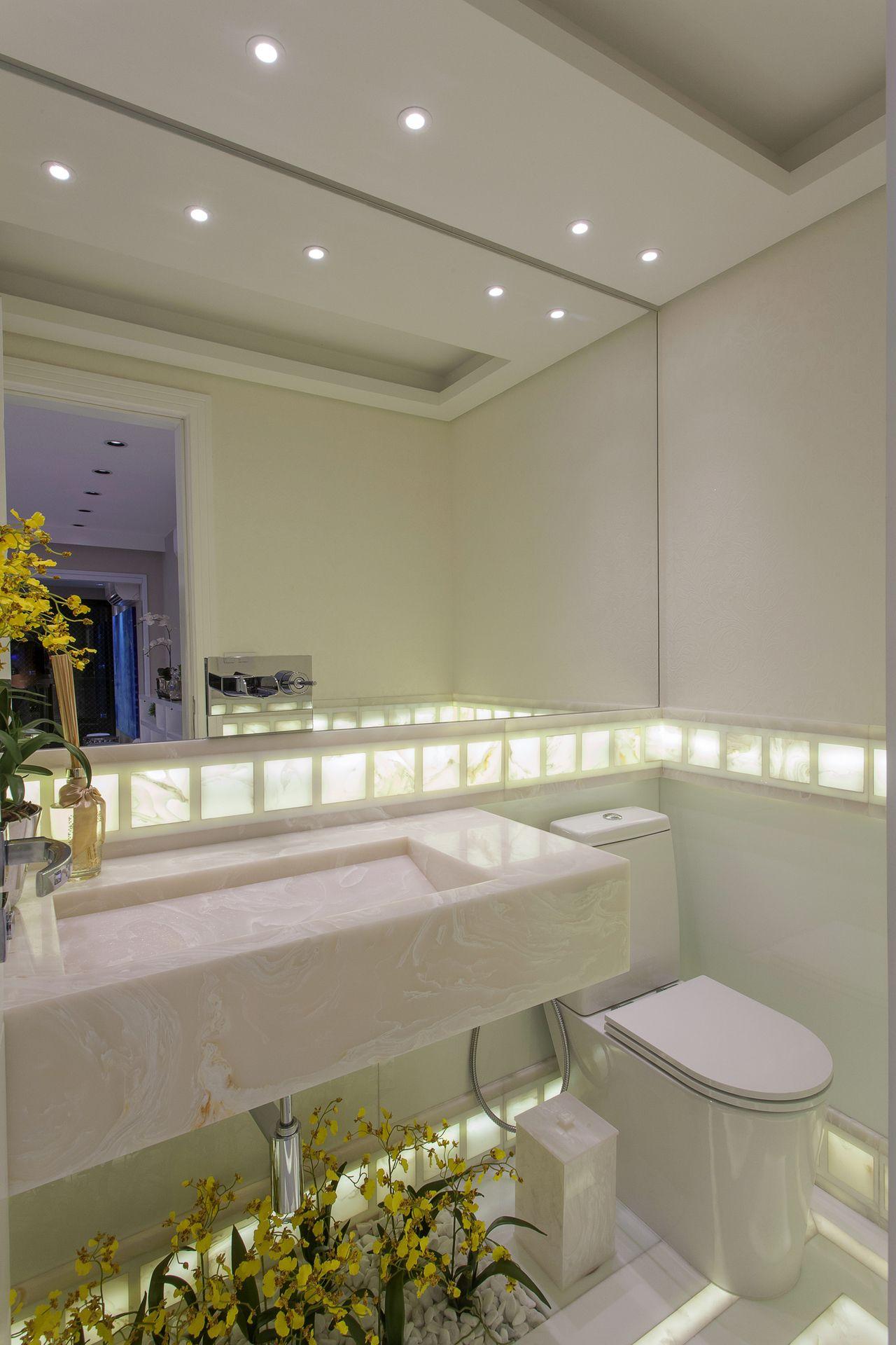 lavabo mà rmore iluminado de iara kilaris no viva decora