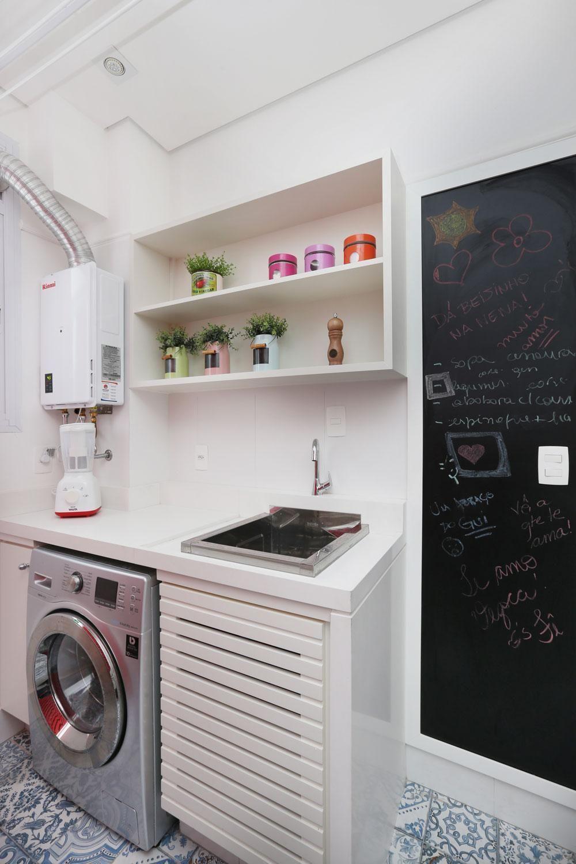 Cozinha Com Lavanderia E Divisria De Lavanderia Cozinha Com Porta