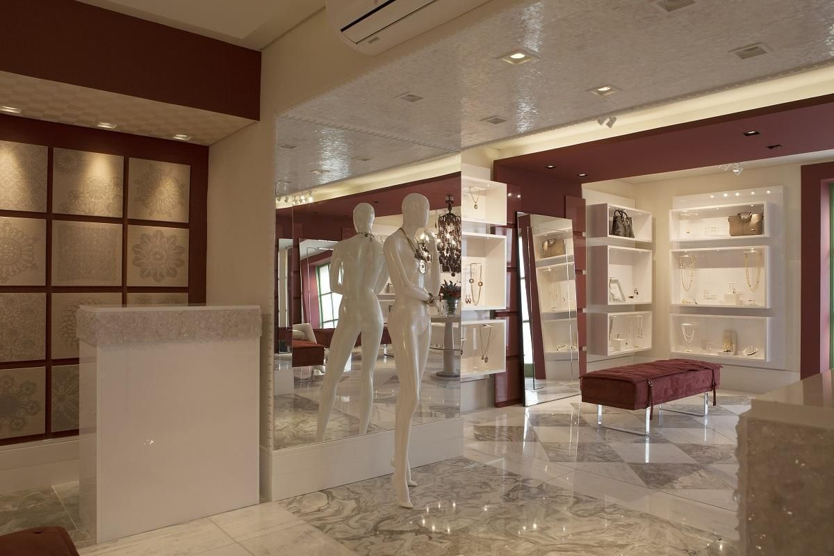 2c297f4e95c Boa ideia para inspirar o closet  Joalheria Design - Casa Cor 2015