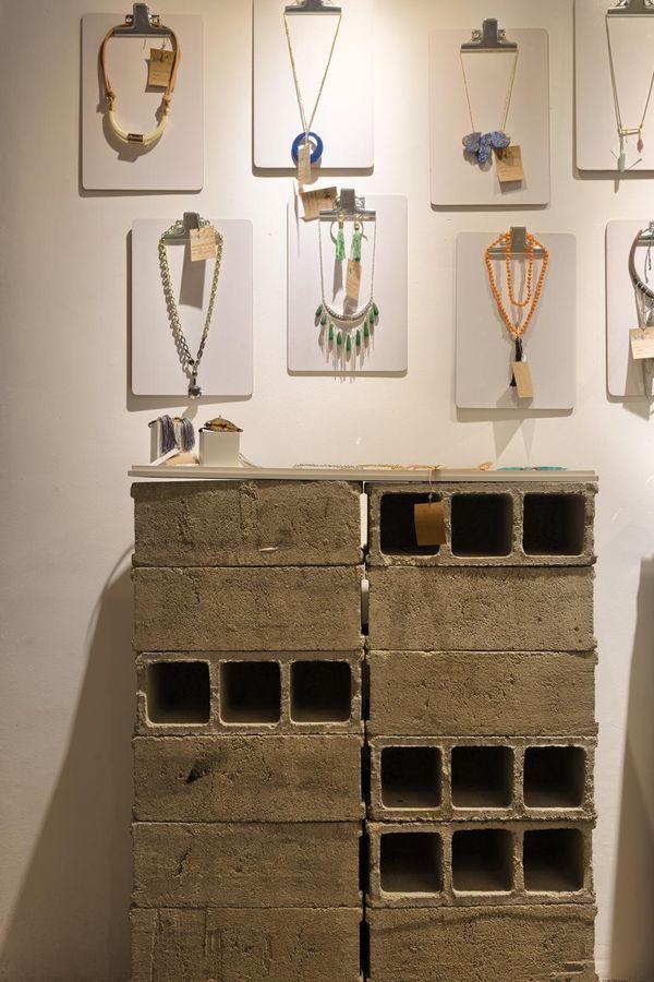 decoração barata prancheta blocos