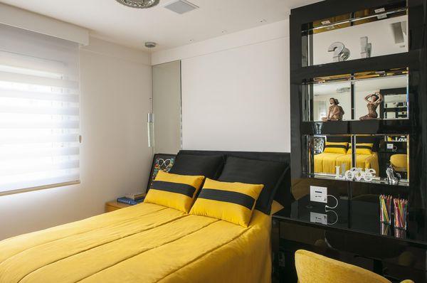 decoração quarto preto - cores de tintas cores de casas