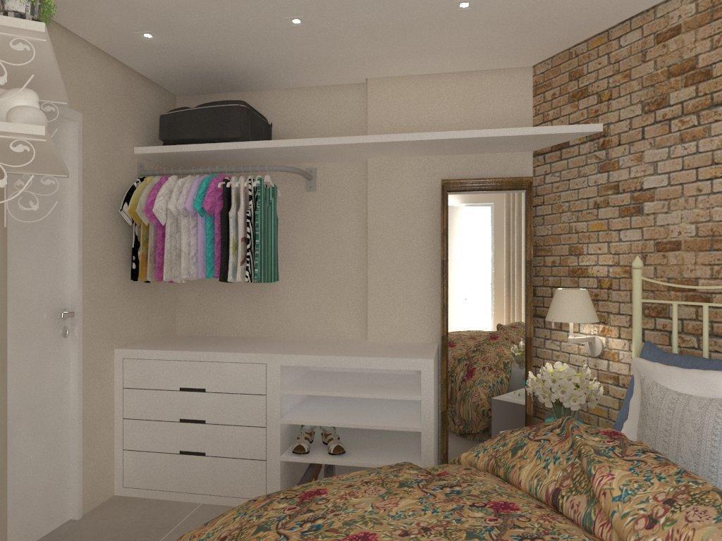 Closet Aberto E Funcional De Carol Rivelli 121519 No Viva Decora ~ Decoração Quarto Casal Com Closet