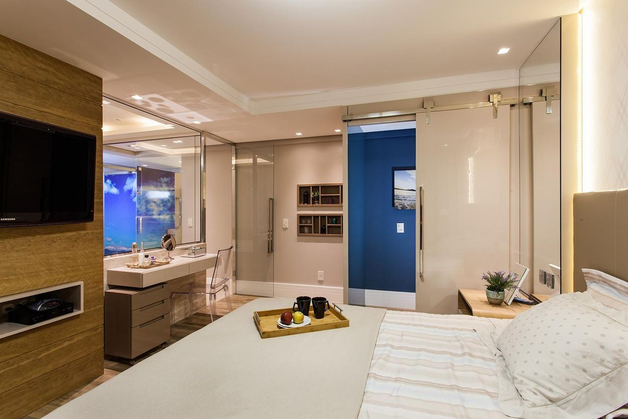 Ambientes Porta de Vidro Banheiro