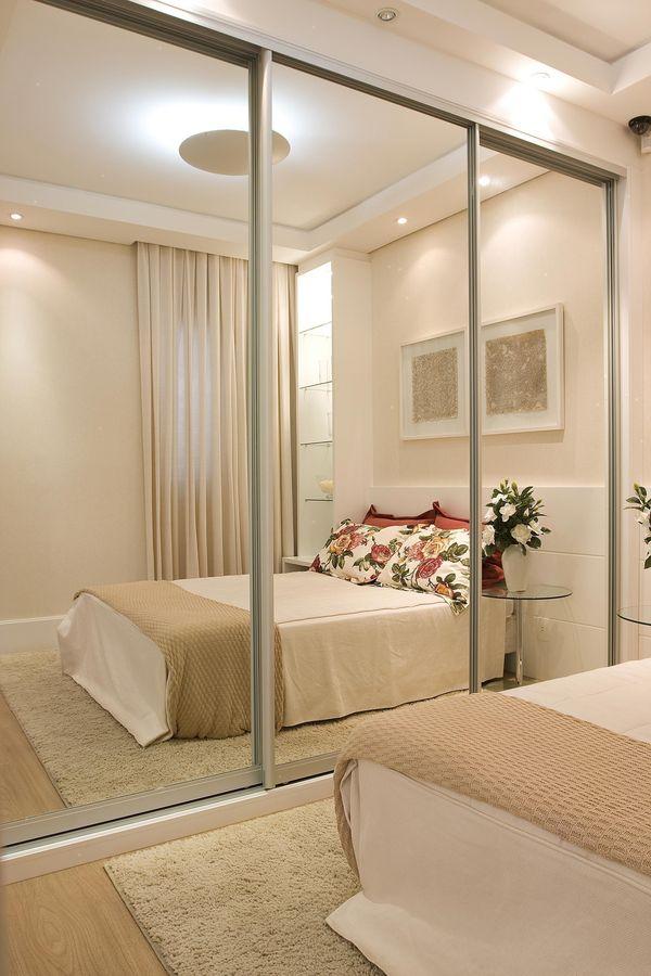 34 Ideias para decorar quartos pequenos Viva Decora ~ Textura Para Quarto De Casal Pequeno