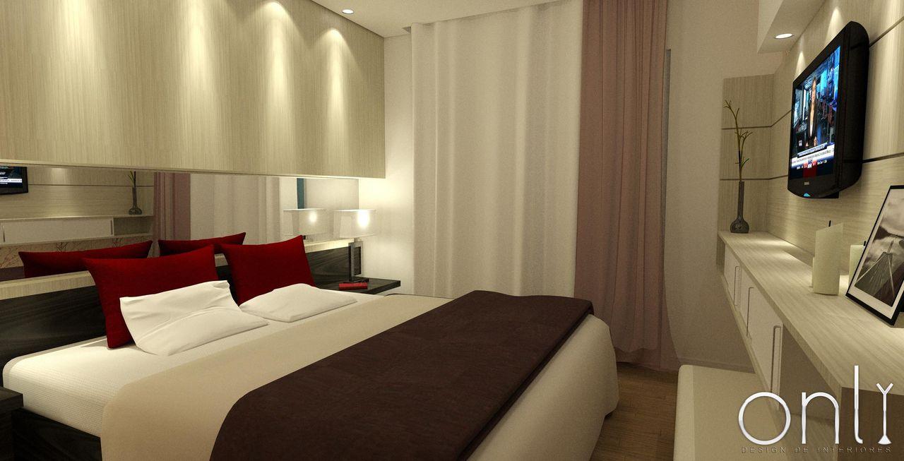 Lumin Ria Embutida No Teto De Only Design De Interiores 37877 No  ~ Luminaria Quarto Teto E Quarto Moderno De Casal