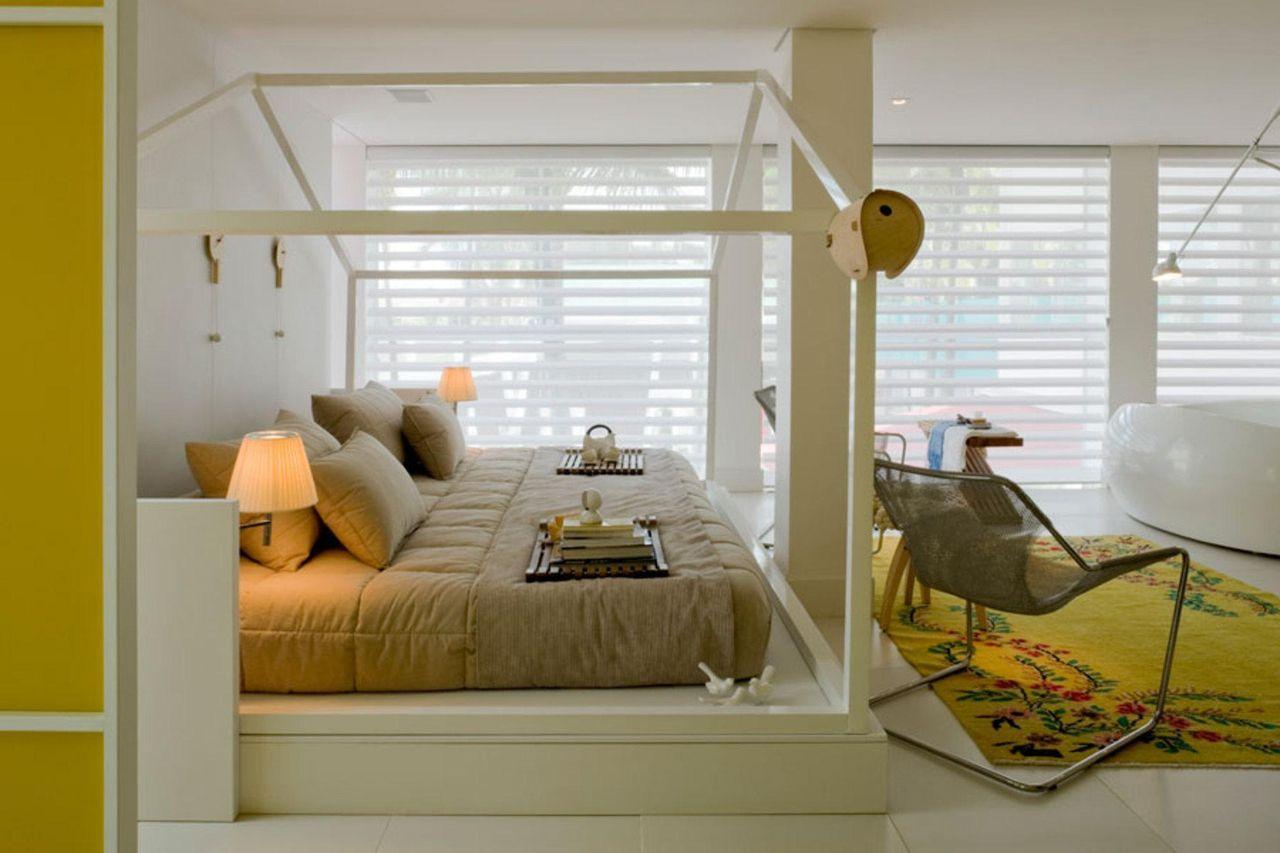 quarto pequeno verde