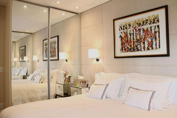 34 Ideias para decorar quartos pequenos Viva Decora ~ Quarto Romantico Como Decorar