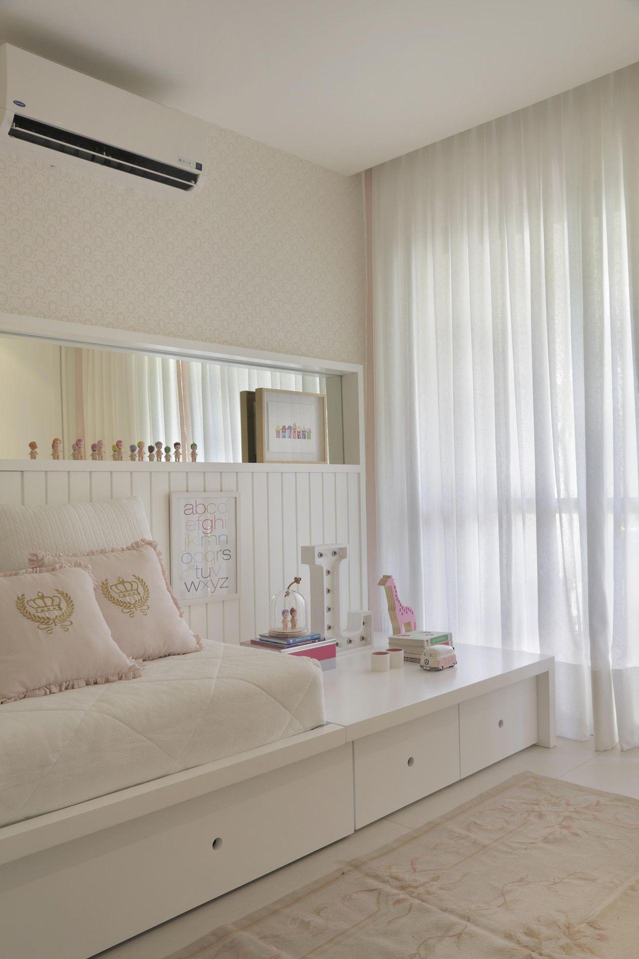 Parede Com Nicho Espelhado De Yamagata Arquitetura 107051 No  ~ Nicho De Parede Para Quarto De Bebe