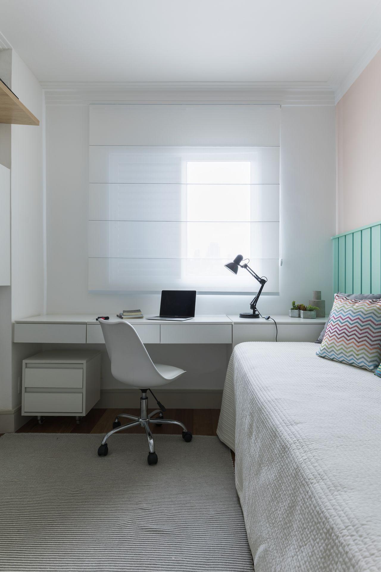 Bancada Para Home Office No Quarto De Sp Estudio 167885 No Viva  ~ Home Office No Quarto De Solteiro