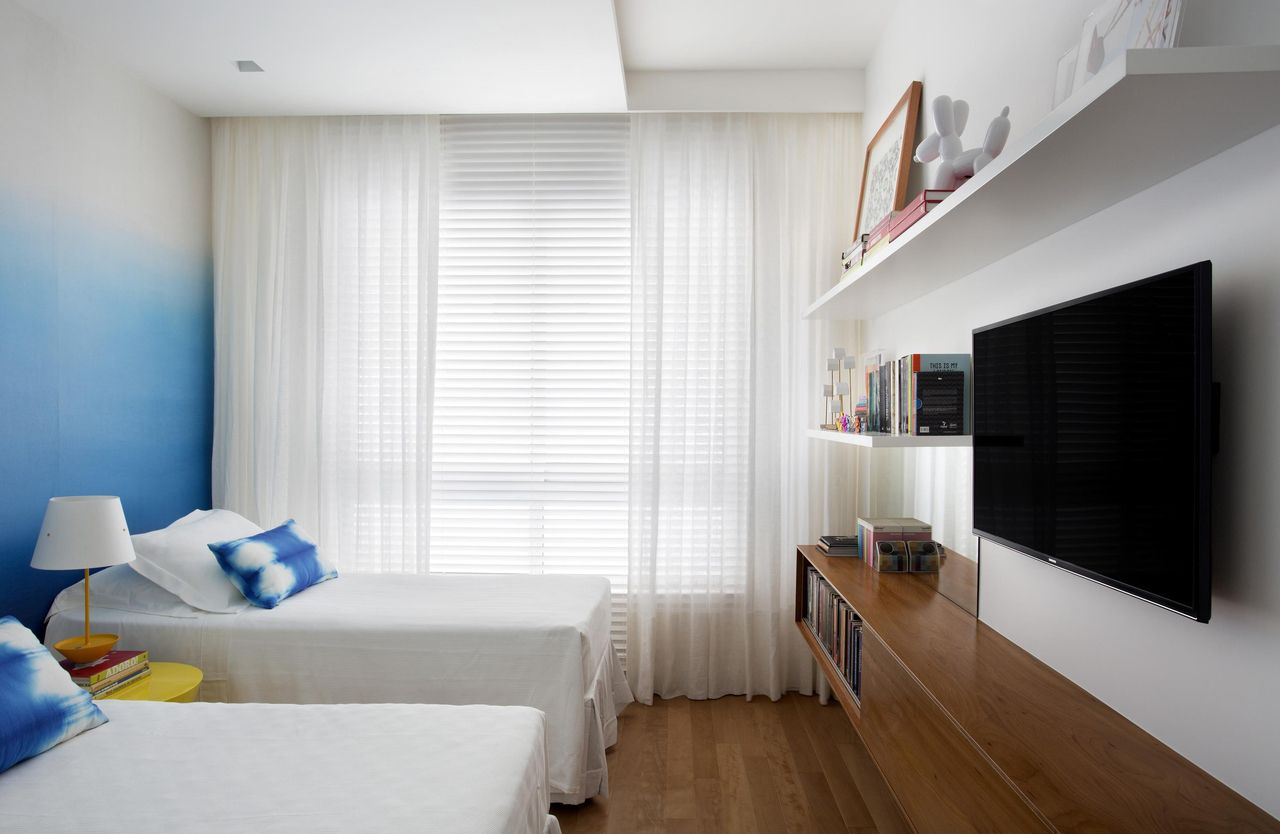 Cortina Sala Apartamento Modulo Como Instalar Cortina No Varao Mp  -> Cortina Sala Apartamento