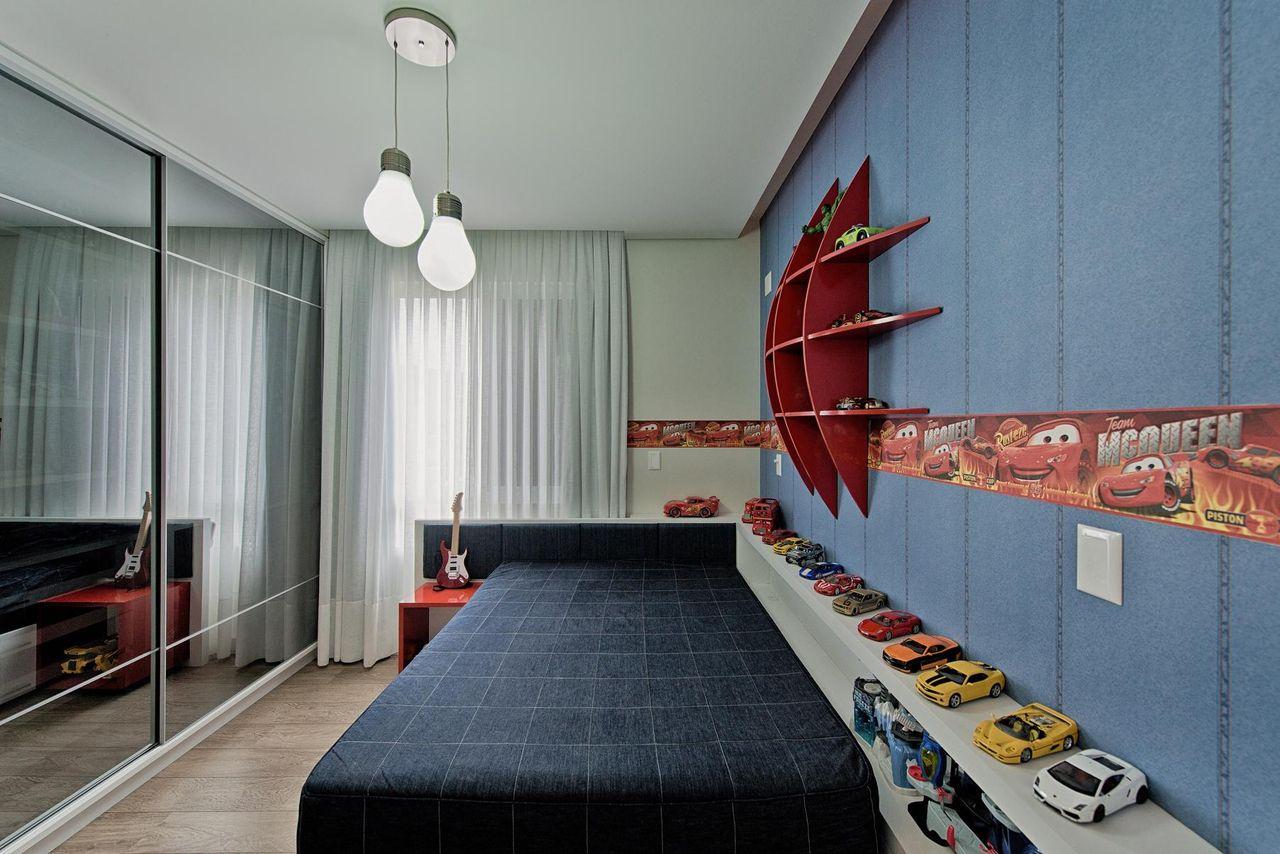 Quarto Com Cole O Carros De Espa O Do Tra O Arquitetura 105151 No  -> Sala Quarto Cozinha Carro