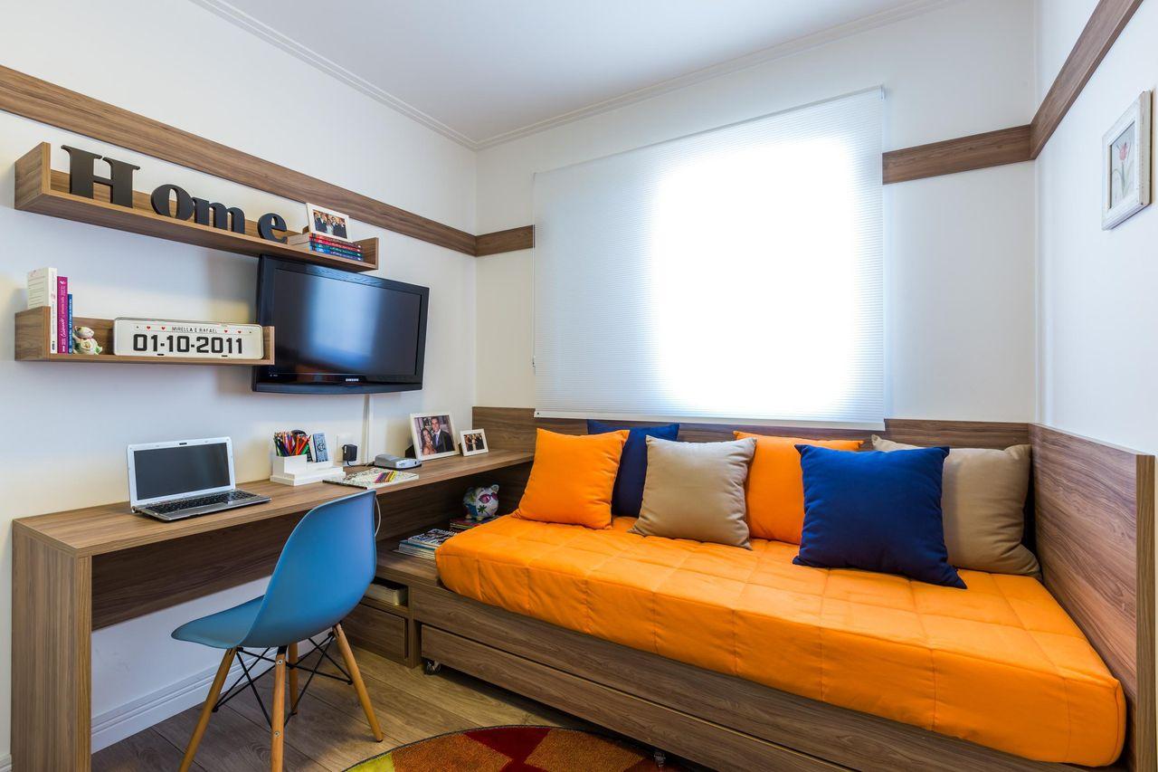 Quarto De Hospedes E Home Office De By Arq Design 81542 No Viva