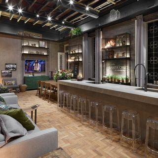 Resultado de imagem para restaurante rustico moderno projeto for Casa moderna restaurante salta