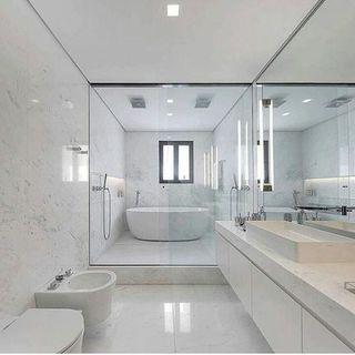 Banheiro Grande Decoração 200 Fotos Dicas E Ideias