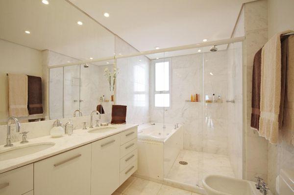 cores de tintas branco decoração banheiro cores de parede