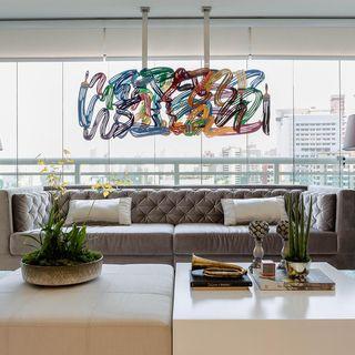 69628bea5 Sala de Estar - Decoração  Melhores 100 fotos de sala de estar ...