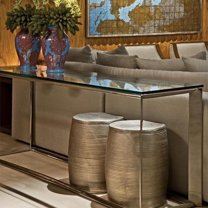 Aparador Grande Para Tv ~ Aparador com tampo de vidro de Jayme Bernardo Arquitetura e Design 68500 no Viva Decora
