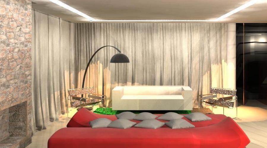 Fotos De Abajur Para Sala De Estar ~ Decoração Sala de Estar Sala de estar com abajur de piso Preto